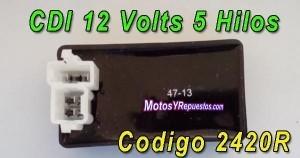 cdi 12 volts 5 hilos motorrad ATV
