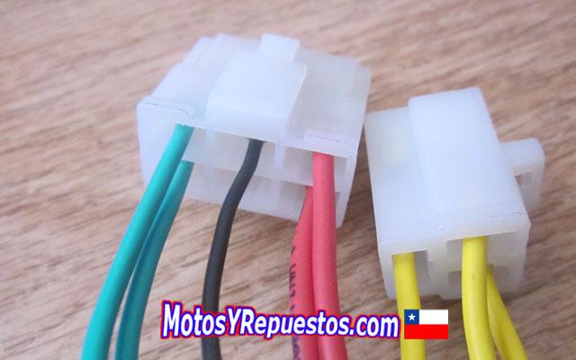 rectificador conector 8 hilos
