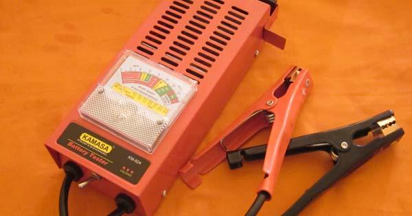 tester de CCA para baterias