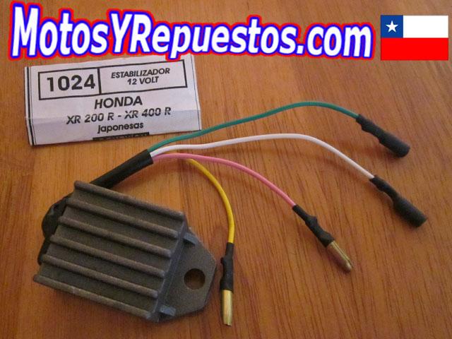 Estabilizador de corriente Honda XR 200 400 R Pietcard