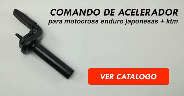 Comando Acelerador motocross enduro